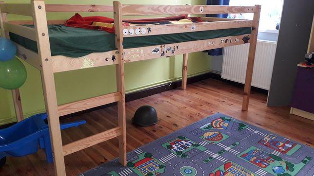 Łóżko  dzieciece pietrowe