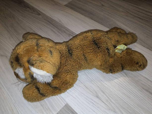 Мягкая плюшевая игрушка тигр Devik Toys тигренок