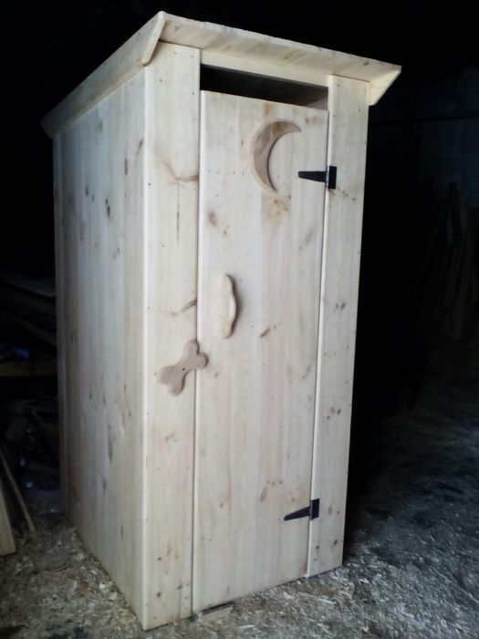 Продам туалет дерев'яний Новые Санжары - изображение 1