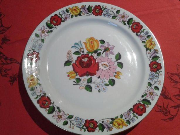 Kolekcjonerski talerz porcelana Kalocsa