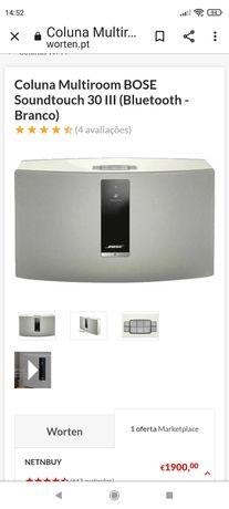 Coluna Bose sound Touch 30
