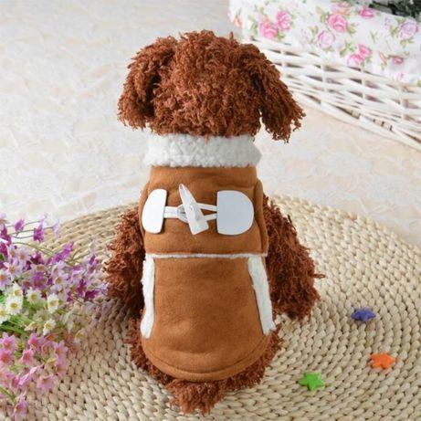 Ubranko dla psa szczeniak york chihuahua ciepły kożuszek kurtkeczka