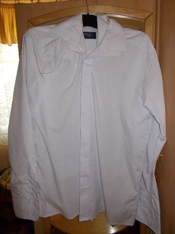 Biała koszula męska KARO Kosakowscy