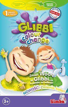 Simba GLIBBI Żelkowa Masa Do Kąpieli Zmieniająca Kolor