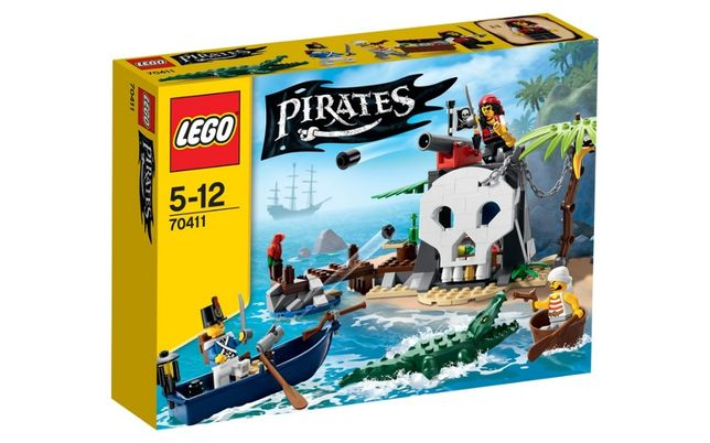 Lego Pirates (70411) - Treasure Island (RARO)