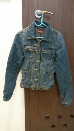 Kurtka jeans, dla dziewczynki, rozm. 140