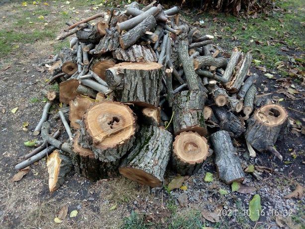 Продам пиляні дрова горіха
