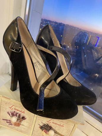 Удобные туфли 37 р-р
