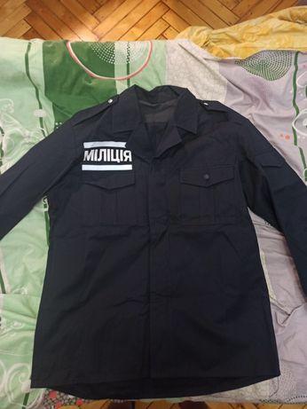 Милицейский китель,куртка