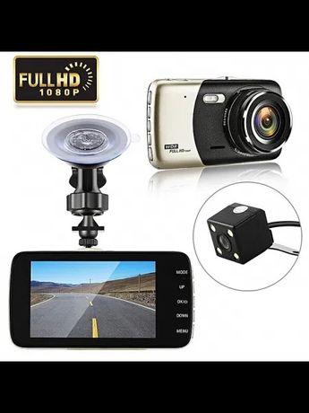 Автомобильный видеорегистратор с камерой заднег вида ull HD1080P 2 кам