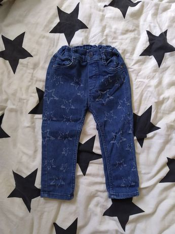 Dżinsy H&M 80 gwiazdy