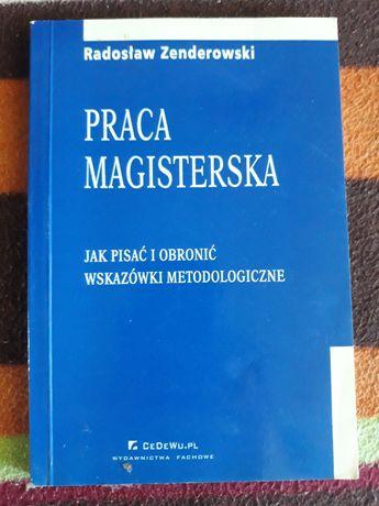 Praca magisterska. Radosław Zenderowski