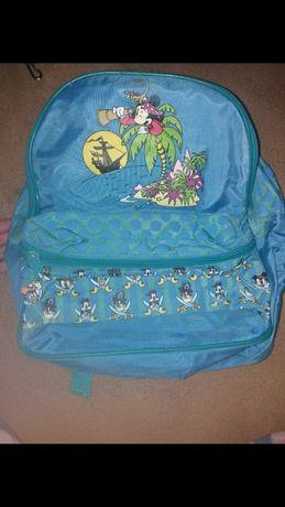 Conjunto mochila e saco