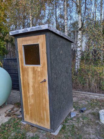 WC drewniany, sławojka, wychodek, WC budowlany Bardzo dobry stan !!!
