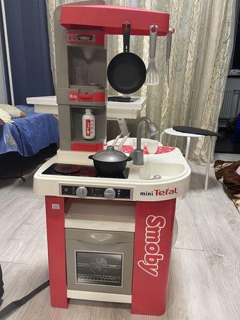 Детская кухня Smoby Mini Tefal