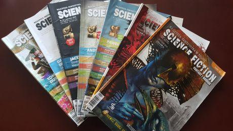 Siedem numerów Sciene Fiction z 2010