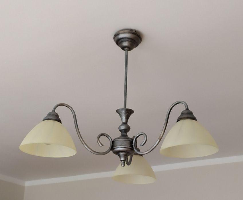 Lampa wisząca + 2 lampki nocne. Komorniki - image 1