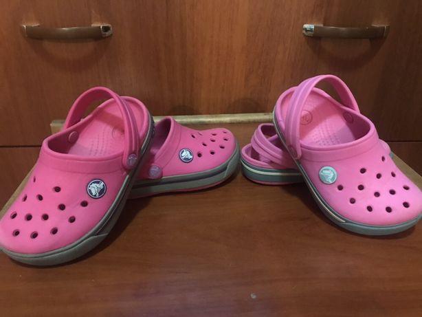 Оригинал Кроксы crocs кроксики детские для девочки