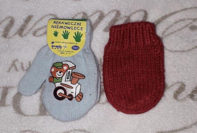 Nowe rękawiczki niemowlęce. Wysyłka 1 zł!