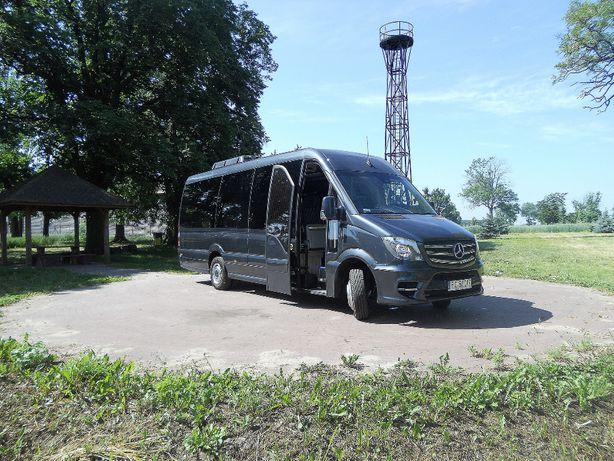 Wynajem BUS Mercedes Sprinter z kierowcą ! 23 osoby + kierowca