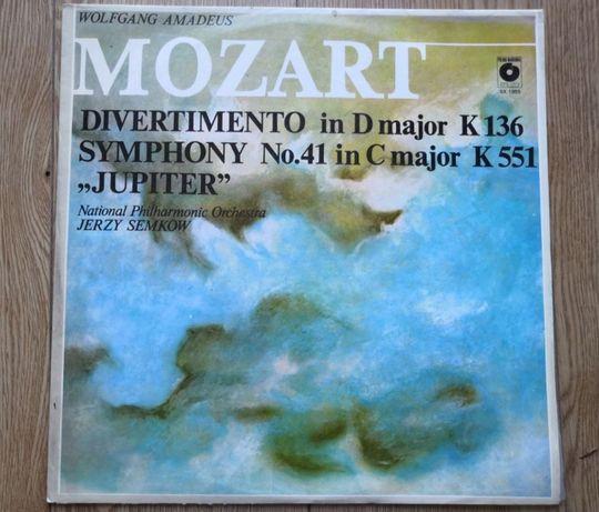 Mozart - Divertimento in D major K136 Jupiter - Winyl
