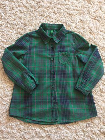 Benetton koszula chłopiec 110 cm