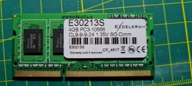 Модуль памяти EXCELERAM  DDR3L 4GB