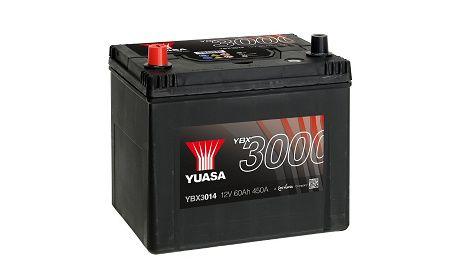 Akumulator YUASA YBX3014 60Ah 450A Promocja!!! L+