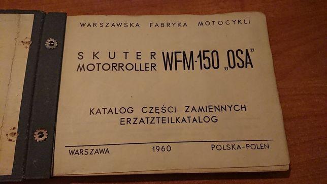 WFM OSA M50 148cm3 Katalog części