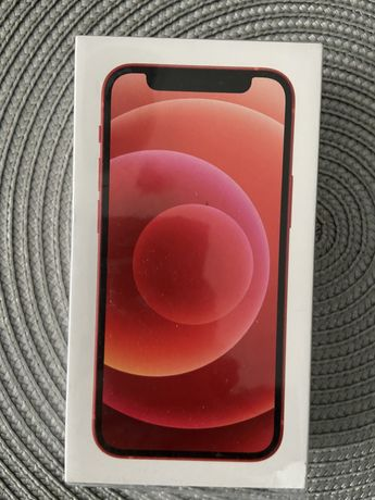 Iphone 12 mini 128 gb red product nowy