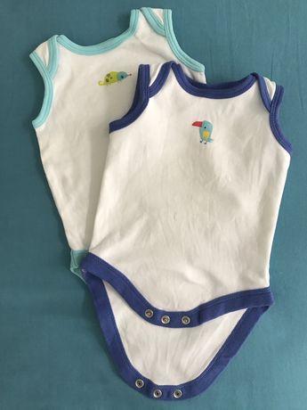 Бодики и много другой одежды для новорожденных б/у очень дешево