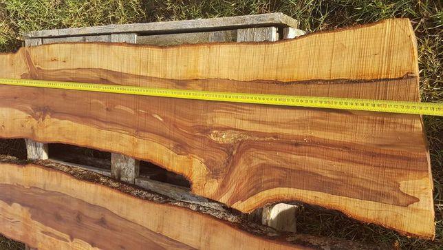 Deski monolity blaty tarcica jabłoń czereśnia live edge