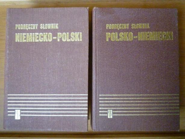 Podręczny słownik polsko-niemiecki oraz niemiecko-polski