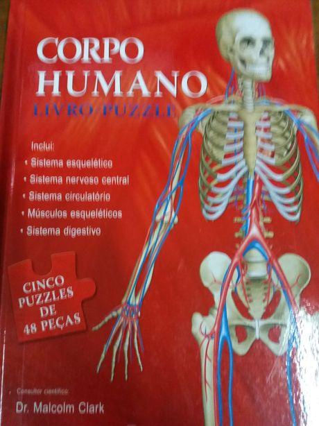 Corpo Humano ( livro puzzle)