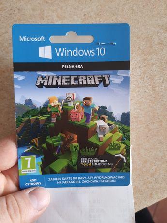 Minecraft pełna gra windows 10 kod cyfrowy z media expert