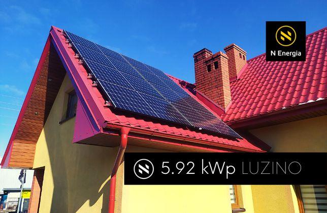 Instalacje Fotowoltaiczne LUZINO - N ENERGIA - Fotowoltaika dla domu