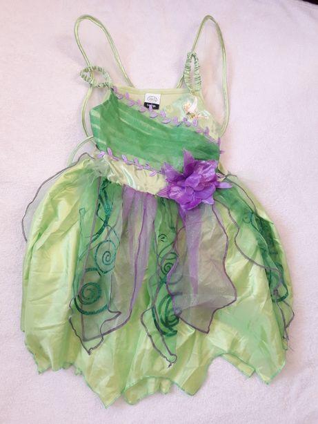 Детское карнавальное платье Динь-Динь оригинал Disney