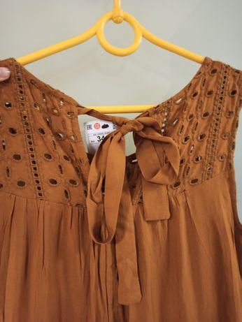Sukienka Reserved z metką karmelowa r. 34