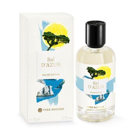 Парфюмированная Вода Sel d'Azur Морской Бриз Yves Rocher ив роше духи