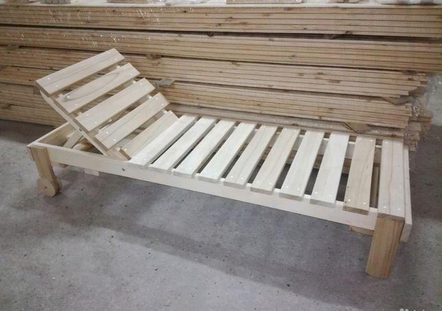 Лежак для бани, мебель в парную баню сауну