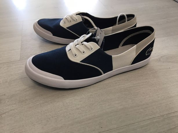 Lacoste buty trampki lancelle 3 eye 117 3 granatowe białe r 36 nowe
