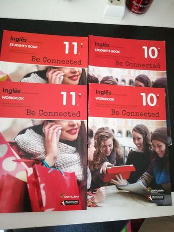 Livros Inglês 10 e 11 anos