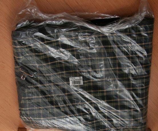 Derka końska XL (165) w kratę czarna/zielona/beżowa HKM