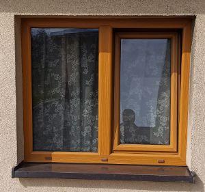 okna pcv i drewniane