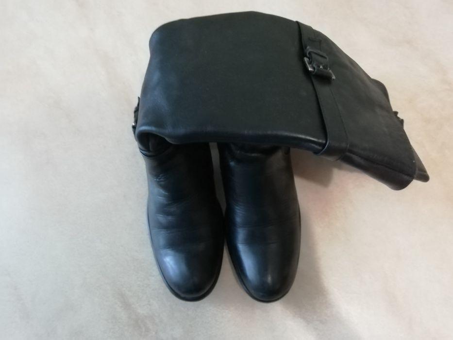 Чоботи шкіряні сапоги ботинки кожаные 36р Тернополь - изображение 1