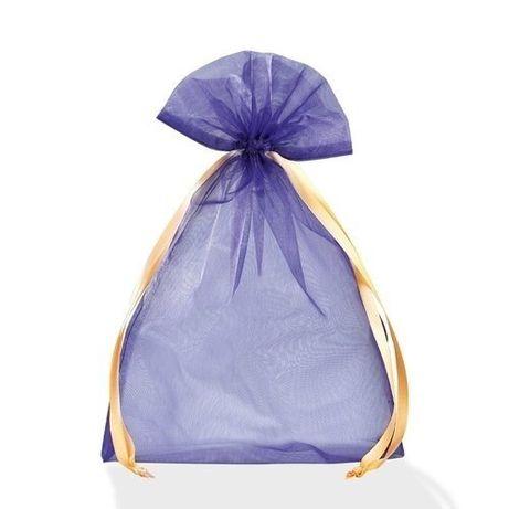 Праздничный мешочек из огранзы для подарков