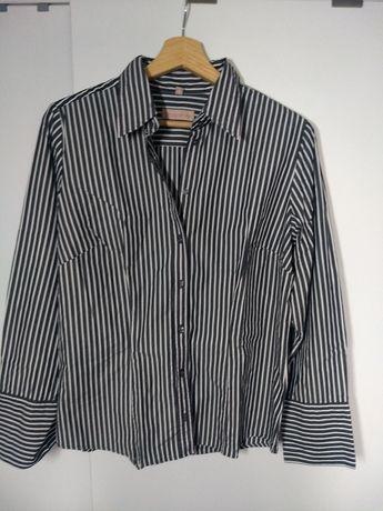 Koszula w paski 40. Nowa. Elegancka bluzka