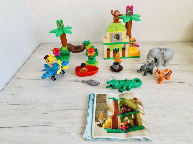Lego duplo Джунгли 10804 Оригинал лего дупло зоопарк животные фигурки