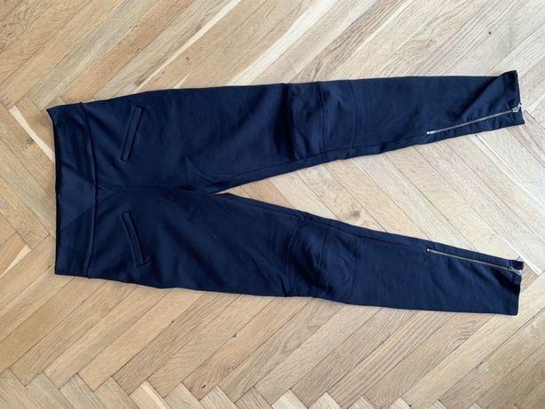 Легінси, штани, лосіни ZARA чорного кольору.