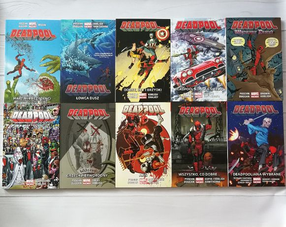 Deadpool Marvel NOW! 1.0 komplet 10 tomów